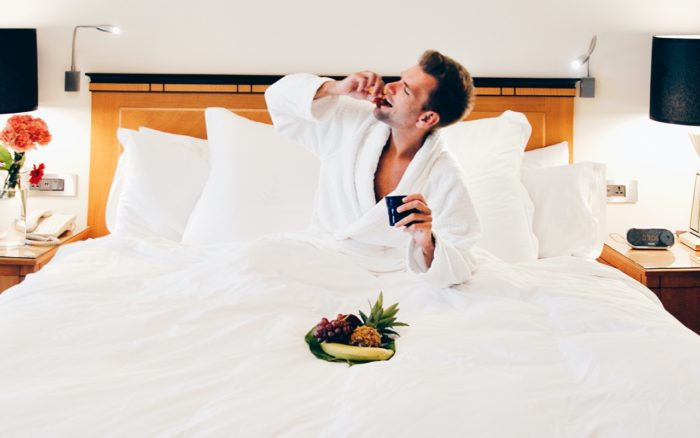 Taking a hotel bathrobe may end up costing you more than it's worth.